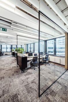 View the full picture gallery of Roche Offices / Bratislava Design Studio Office, Corporate Office Design, Office Space Design, Modern Office Design, Office Interior Design, Office Interiors, Office Designs, Open Concept Office, Open Office