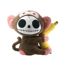 Furrybones® Munky Plush by Summit Collection #InkedShop #plush #skull #monkey #cute