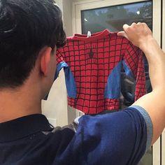 Tom ... El nuevo Spiderman .