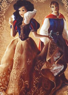 Snow White and Prince Florian - Disney Fairytale Designer Collection