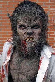 Werewolf Makeup For Halloween