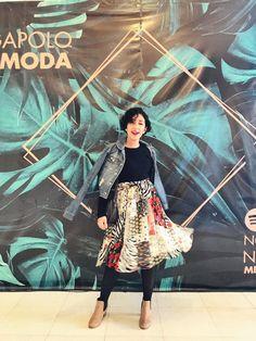 Look usado no 1º dia do Mega Fashion Week Mega Fashion, Sari, Pine Tree, Viajes, Saree, Saris, Sari Dress
