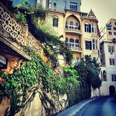 Líbano, Beirut calle escena