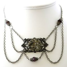 Do not underestimate the jewelry designer's time and frustration invested in a piece of jewelry such as this.
