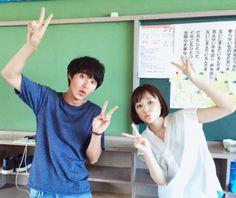 """ep.7, BTS Kento Yamazaki x Sakurako Ohara, J drama """"Sukina hito ga iru koto (A girl & 3 sweethearts)"""", Aug/29/2016"""