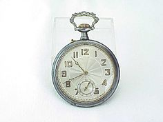 ANTIQUE WORKING OPEN FACE POCKET WATCH WITH DEER STAG ON CASE Vintage Pocket Watch, Open Face, Beautiful Watches, Deer, Costume, Antiques, Antiquities, Antique, Fancy Dress