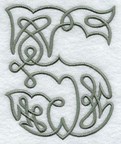 Celtic Knotwork Number 5 - 5 Inch
