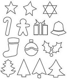 printable christmas envelope | ... for Christmas shapes for gift ...
