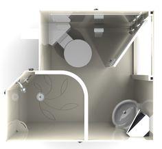 Taplanes: Ailsa en suite bathroom pod 1 of 3
