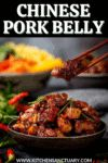Asian Pork Belly, Pork Recipes, Cooking Recipes, Chinese Pork, Sweet And Spicy, Appetizers, Yummy Food, Beef, Pinoy