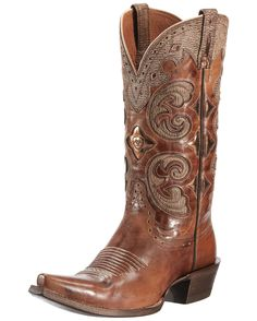 Ariat Women's Amora Boot - Shattered Copper/Tan