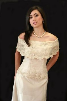 Modern pina dress