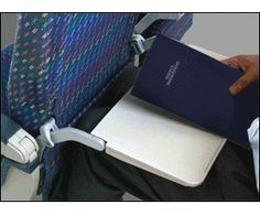 Awesome, a simple clip that keeps the person in front of you from reclining - a boon to tall folks everywhere!