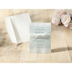 Any wedding would suit this beautiful invitation from Giant Invitations #Mint Dream #Weddinginvitations from http://giantinvitations.com.au/ #weddinginvitation #ribbon #mint #bordered