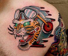 tiger pilot | by Myke Chambers www.mykechambers.com | myke chambers | Flickr