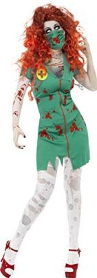 Smiffys Womens Zombie Scrub Nurse Costume Tag a friend who can pull this off! #Zombie #Halloween #Costume