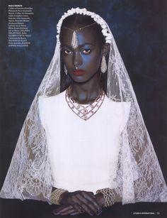 CITIZEN K Magazine Muse: Mélie Tiacoh Photo Credit: Nicolas Menu Stylist: Laurent Dombrowicz WOW