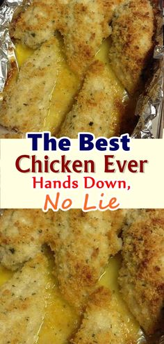 """How to Make """"The Best Chicken Ever"""" Hands Down, No Lie – Skinny Recipes Best Chicken Ever, Best Chicken Recipes, Turkey Recipes, Meat Recipes, Dinner Recipes, Cooking Recipes, Healthy Recipes, Recipies, Tasty Meals"""