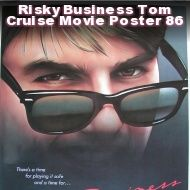 """Risky Business - Romantic Comedy. Starting  Tom Cruise, Rebecca De Mornay. Summary: A Chicago teenager is looking for fun at home while his parents are away, but the situation quickly gets out of hand.  Rewind Moment: Lana wants Joel to make love to her on a train; music (by Tangerine Dream) is outstanding (You can fine long version on YouTube). Go To Line: """"Sometimes you just have to say What the Fuck!"""""""