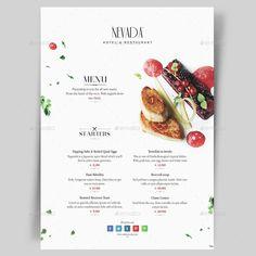 Restaurant Menu Templates. Download : http://graphicriver.net/item/menu-pack-5/15107573?s_rank=9&ref=pxcr