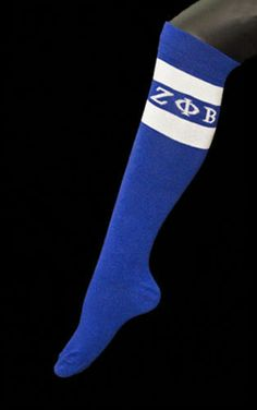 @Zeta Howell Howell Howell Howell Howell   Phi Beta Sorority Inc  (ZPB) High Knee Socks...i need a pair
