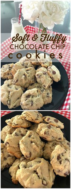 Light and Fluffy Chocolate Chip Cookies without brown sugar