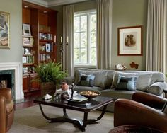 Sherwin Williams, Livable Green -this is the color I am painting my living room