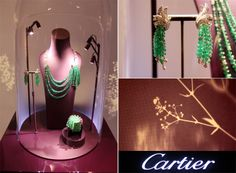 Art Basel 2012: Cartier Miami Design District:The event was perfectly executed, from the mouth-watering light bites that were passed, down to the Cartier champagne that kept making the rounds.  The store aesthetic was ultra-luxe - plush purple carpet and orchids throughout the space, coupled with a really unique display of baby's breath, clustered in the centre of the room.  I'd never seen baby's breath look this chic. Honestly, it looked like a cloud.