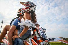 Dirt motorcycle love