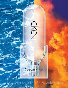 """- Calvin Klein CK2 -  Gender free is such a big thing at the moment with the likes of clothing and models but what about perfumes? Calvin Klein has brought out its very first """"gender free"""" fragrance. The ad campaign used the elements especially earth and water in a playful way. The colours are vibrant and the use of male and female models to promote the scent. The smell of it is fresh and I can see it being used for both genders!"""