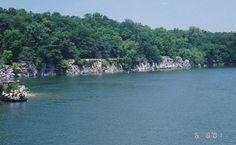 Kentucky Lake, Rock Quarry.