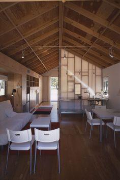 interior of 500 sq ft modern shotgun house
