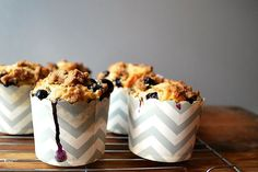 Perfect Blueberry Streusel Muffins