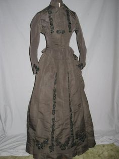 1880's, silk.