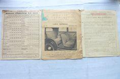 Housse Armure Tarif Général 1938-Couvre-Radiateurs A-C 1939 Tarif   Réf 02 | Collections, Objets publicitaires, Publicités papier | eBay!