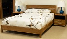 Modern Simple Bed The Joinery