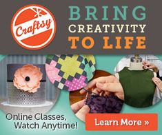 Learning how to cook or bake couldn't be easier than doing in your own home (on your own time).  Craftsy instructors are top notch!  Don't forget to look for some FREE classes as well.  Great gift idea for the cook in your life.
