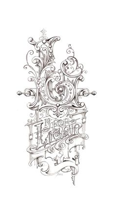 ✍ Sensual Calligraphy Scripts ✍ initials, typography styles and calligraphic art - Lear sketch hand lettering