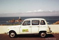 Falles Hire Cars, on location at Corbiere