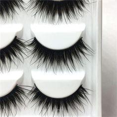 'Fiesty' 5 Pair 3D False Eyelashes