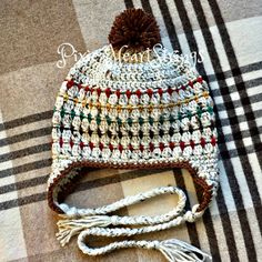Jame's Big Boy Hat by Pixie HeartStrings FREE Pattern on FB page...
