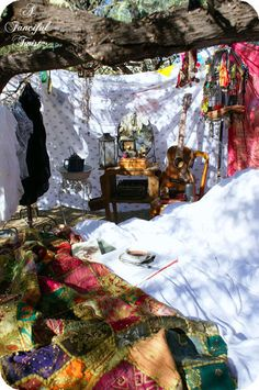 #Gypsy, #bohemian Style #Camp Out