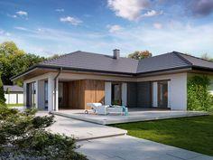 DOM.PL™ - Projekt domu TP Arteo - DOM TP1-84 - gotowy projekt domu