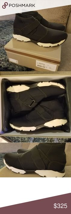 Marni Black Scuba Sneaker Worn twice. 100% Authentic. No Trades. Original box. Size 43 US 10. Rare color Marni Shoes Sneakers