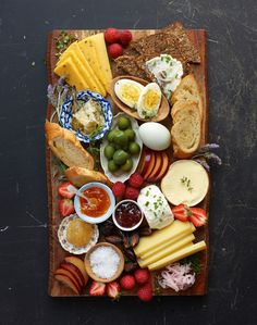 Breakfast Board, a.k.a. every last thing in the kitchen + an actual board q