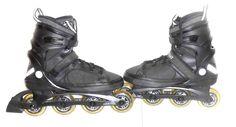 K2 Dirty Rat Urban Men's Black Inline Rollerblade Skates Size Euro 45  US 11.5 #K2