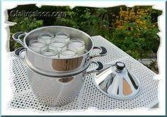 Yaourts de lait de coco réalisés sans yaourtière avec le vitaliseur o/