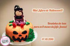 Sweet Cucas and Cupcakes by Rosângela Rolim: Fofura de Halloween de Mesversário