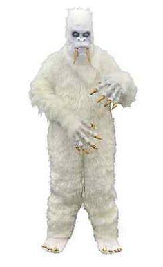 YETI ABOMINABLE SNOWMAN GORILLA DELUXE HALLOWEEN COSTUME - BUMP IN THE NIGHT