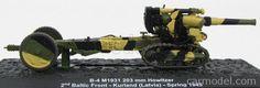 EDICOLA BLINDCOMBAT028 Scale 1/72  HOWITZER B-4 M1931 203 MM 2nd BALTIC FRONT KURLAND LATVIA SPRING 1945 CAMOUFLAGE